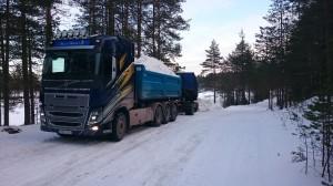 Volvo FH12 -14 Snökärning Vasaloppet